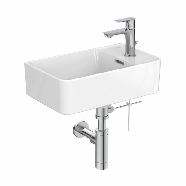 Ideal Standard Strada II 1 tap hole right hand wall hung basin 450mm