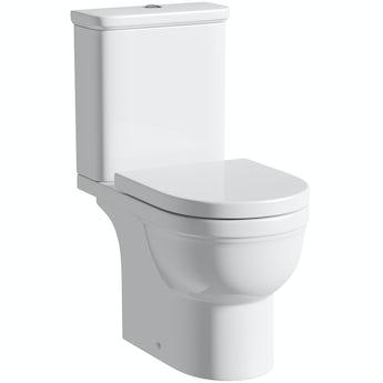 Orchard Elsdon close coupled toilet without toilet seat