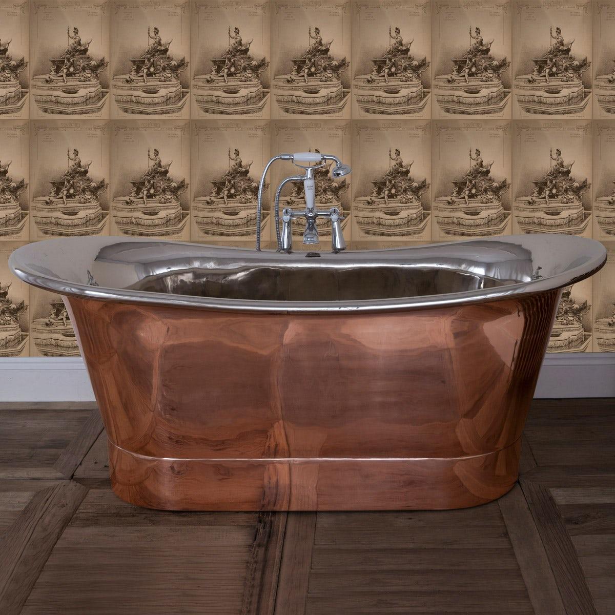 The Bath Co. Rembrandt copper and nickel bath