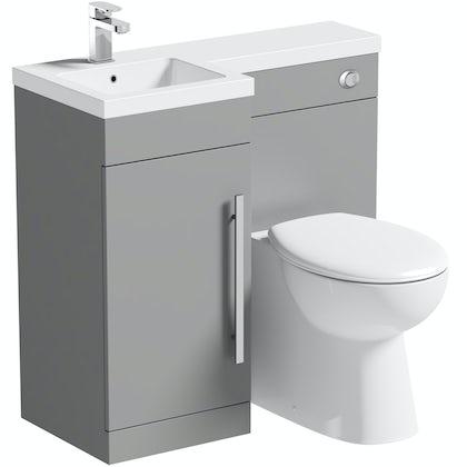 Toilet And Sink Bathroom Combination Units Victoriaplumcom