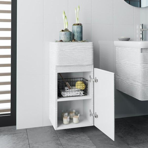 Mode Heath white side cabinet
