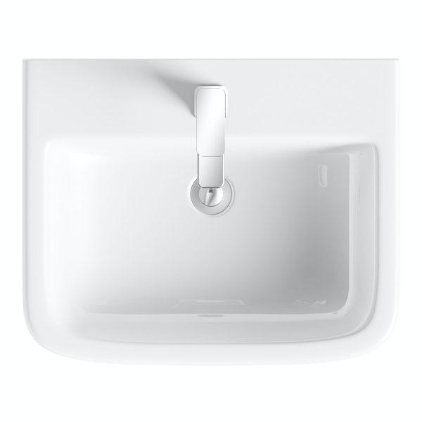 Carter full pedestal basin 550mm