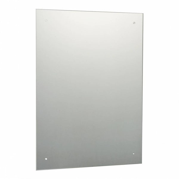 Rectangular Bevelled Edge Drilled Mirror 60x45cm
