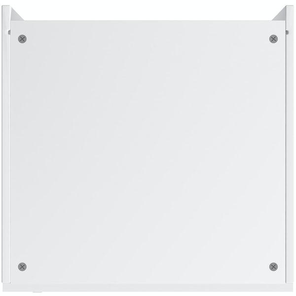 Schon Boston white slab 600mm double oven housing unit