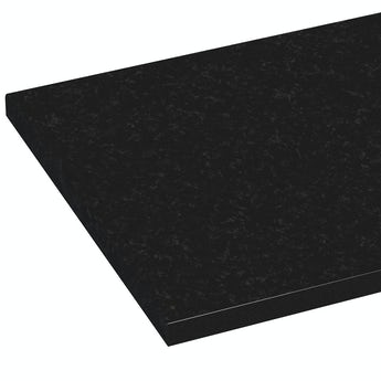 Reeves Wharfe polar black laminate worktop 337 x 1500mm