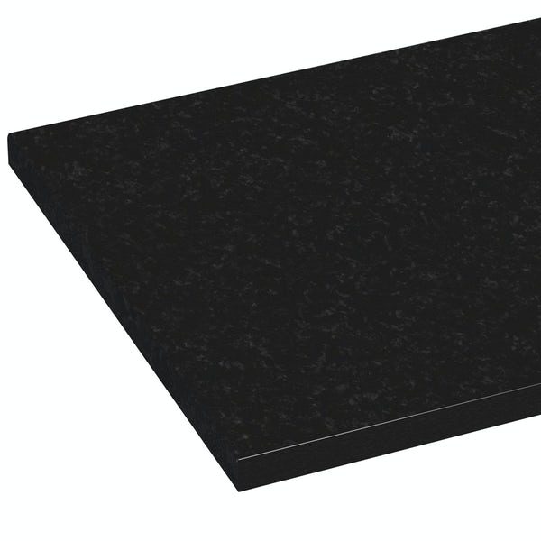 Orchard Wharfe polar black laminate worktop 337 x 1500mm