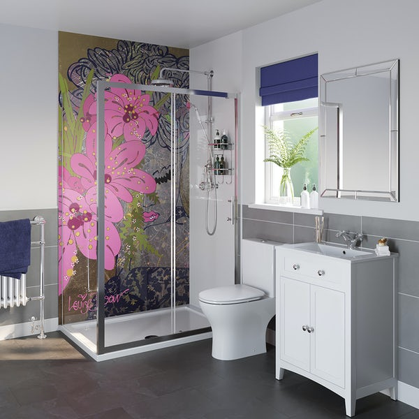 Louise Dear Love Affair shower enclosure suite 1200 x 800mm