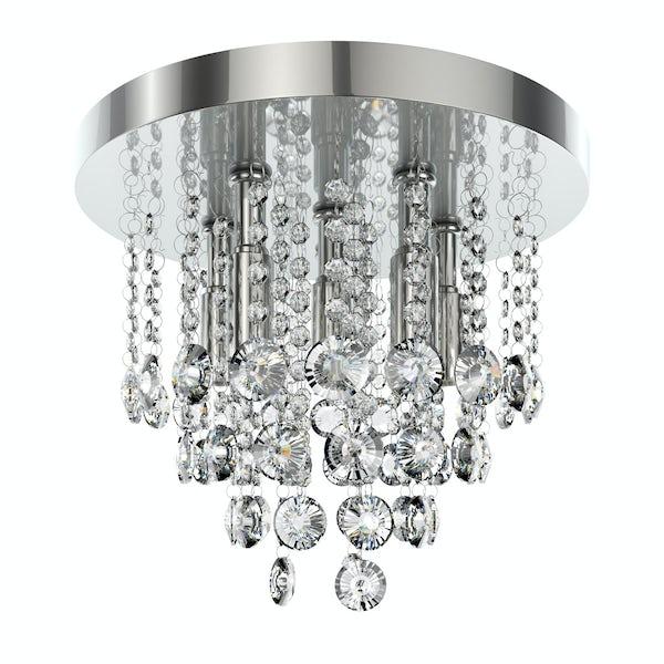 Forum Lenah 330mm flush bathroom ceiling light