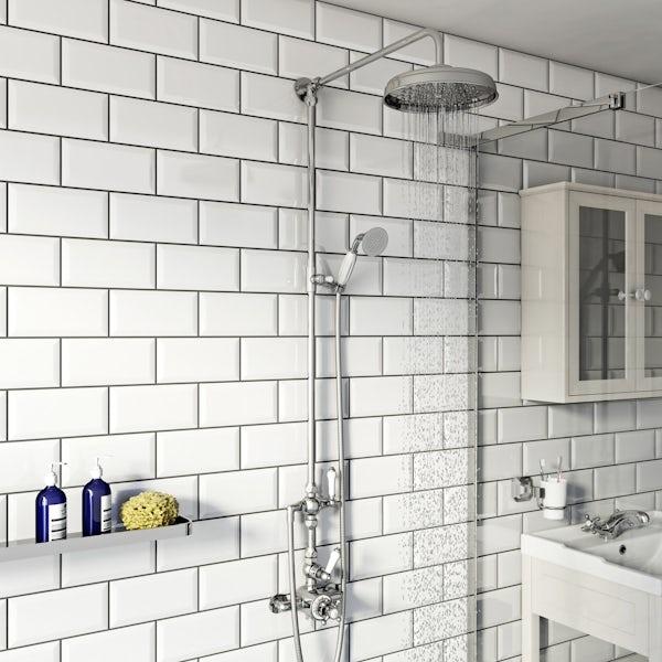 Winchester riser shower system