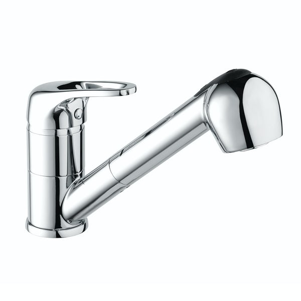 Bristan Pear kitchen tap with pull out spout