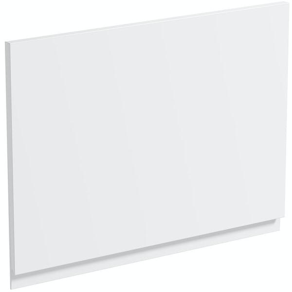 Schon Chicago white 600mm integrated extractor door