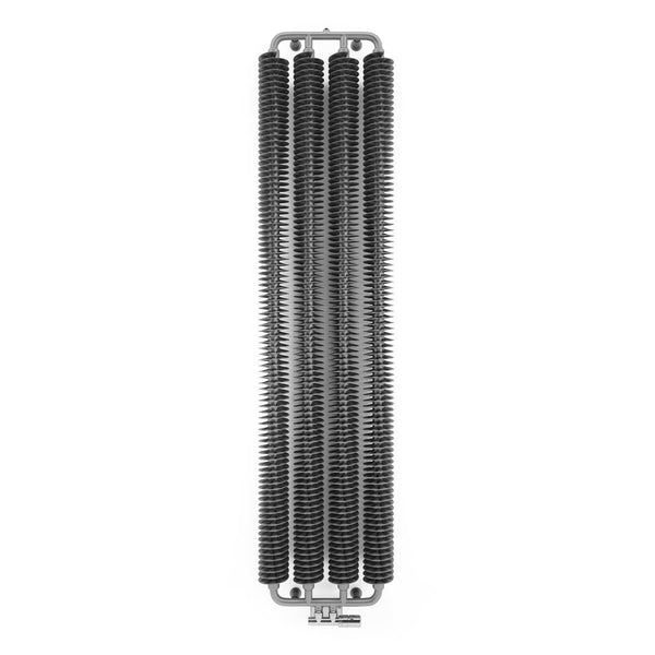 Terma Ribbon V metallic grey designer radiator 1720 x 290