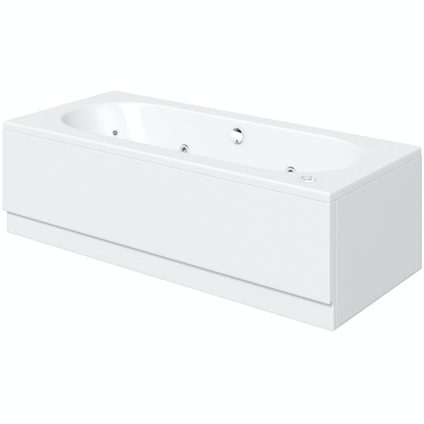 Islington 1800 x 800 double end 12 jet whirlpool bath