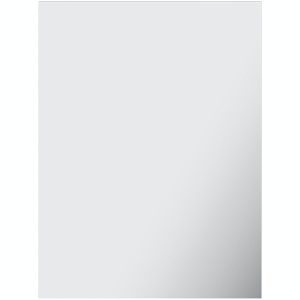 Accents bevelled edge rectangular mirror 60 x 45cm