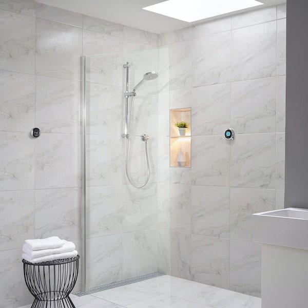 Aqualisa Optic Q Smart concealed shower with adjustable handset gravity pumped