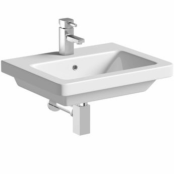 Mode Cooper 1 tap hole wall hung basin 550mm