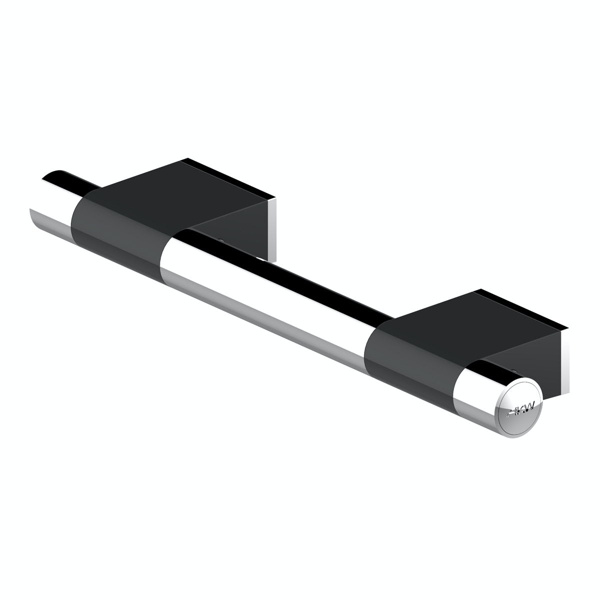 AKW Onyx grab rail black 300mm