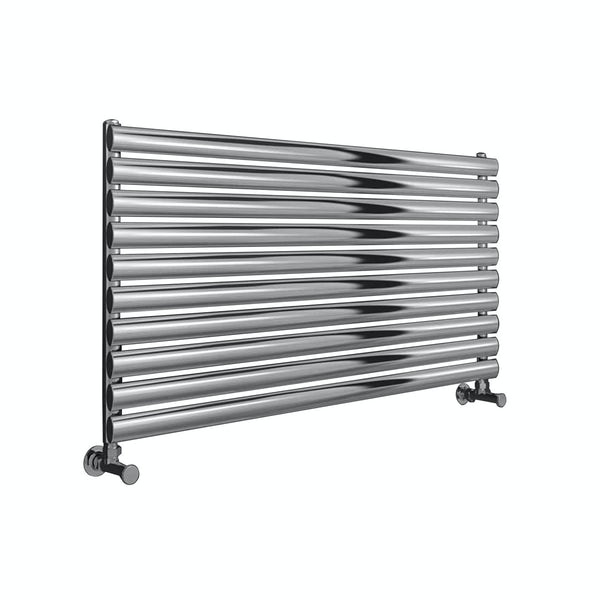 Reina Artena single polished stainless steel designer radiator