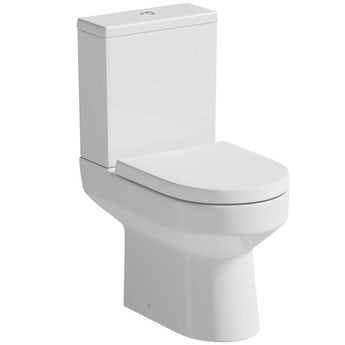 Orchard Wharfe close coupled toilet with soft close seat