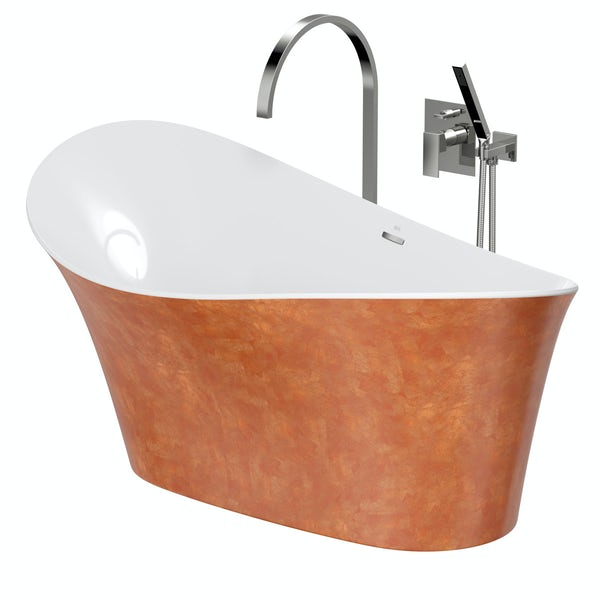 Belle de Louvain Fontana freestanding bath and tap pack