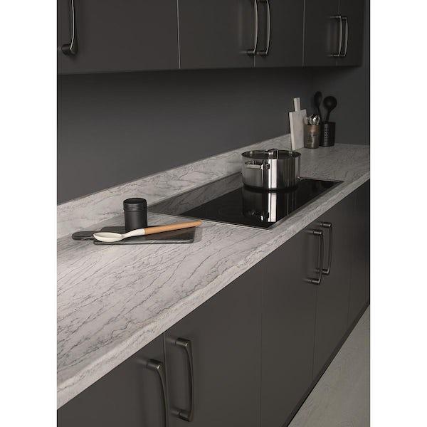 Bushboard Omega Ice stone fusion kitchen worktop
