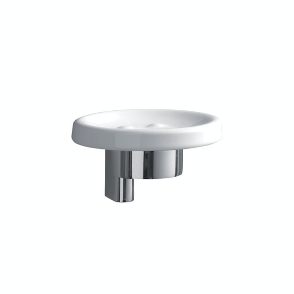 Ideal Standard Concept ceramic soap dish with bracket and holder