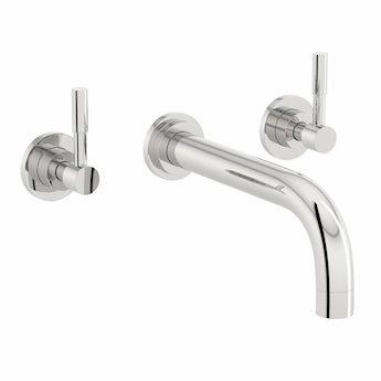 Mode Harrison wall mounted basin mixer tap