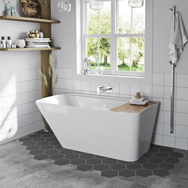 Mode Foster complete freestanding bath suite