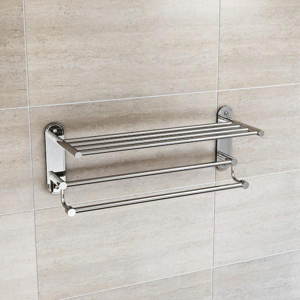 Orchard Options traditional towel shelf