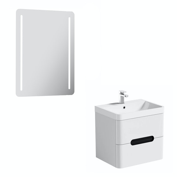 Mode Ellis essen wall hung vanity unit 600mm and mirror offer