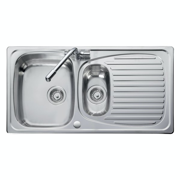 Leisure Euroline 1.5 bowl reversible kitchen sink