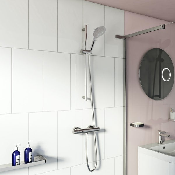Mode Harrison thermostatic slider rail mixer shower
