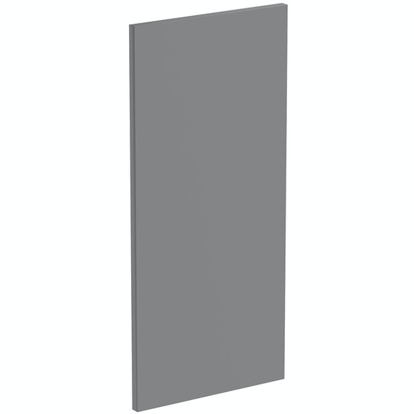 Schon Boston mid grey 720mm wall end panel