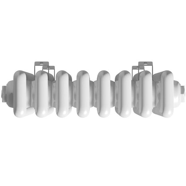 The Heating Co. Corso white tall 3 column radiator