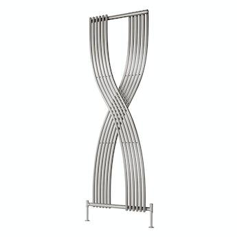 Reina Dimaro chrome steel designer radiator