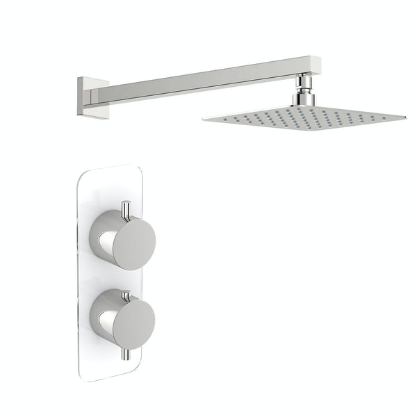 Mode Austin thermostatic shower valve with wall shower set