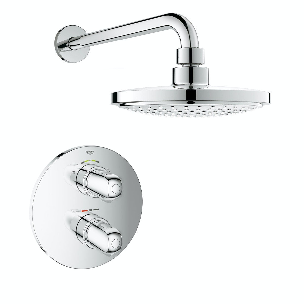 Grohe Grohtherm 1000 Concealed Thermostatic Shower Set