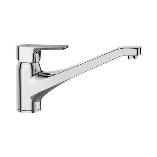 Ideal Standard Tempo Single lever kitchen mixer with cast spout