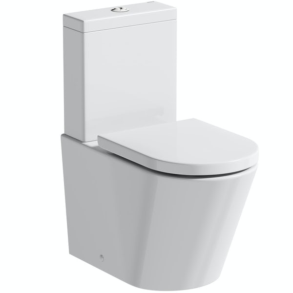 Mode Tate Verotti close coupled toilet with soft close seat
