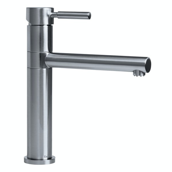 Bristan Vegas brushed nickel easyfit single lever kitchen mixer tap