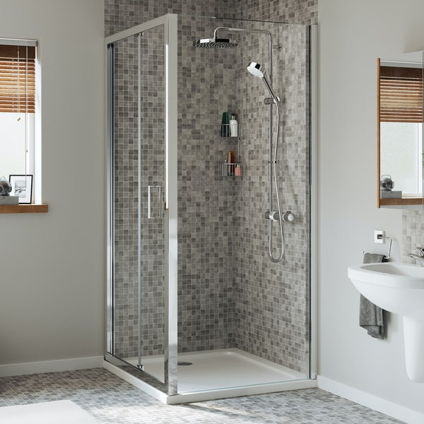 Mira Leap bifold shower door