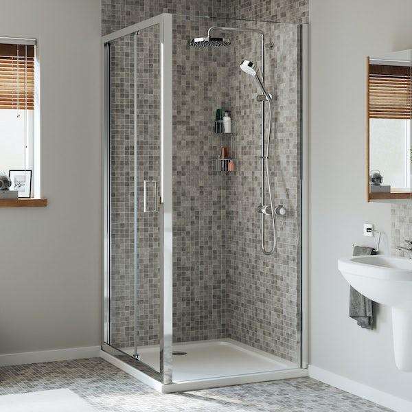 Mira Leap bifold shower door
