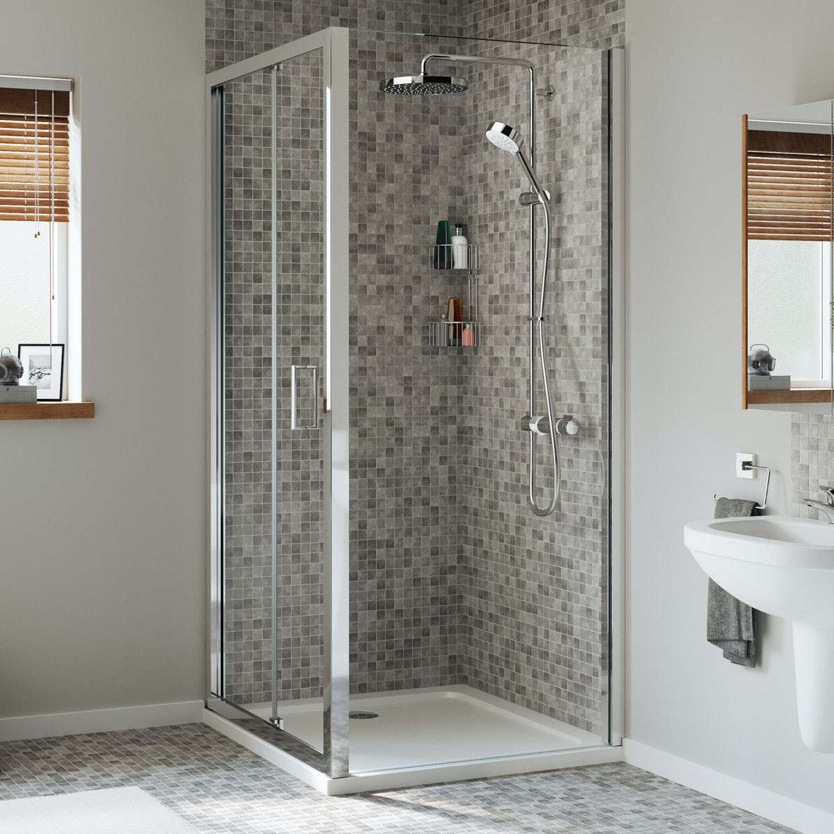 Mira Leap Bifold Shower Door 1000mm Victoriaplum Com