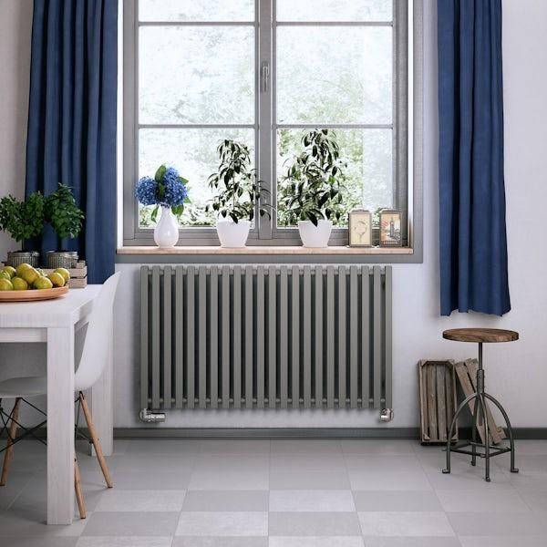 Terma Triga metallic stone designer radiator