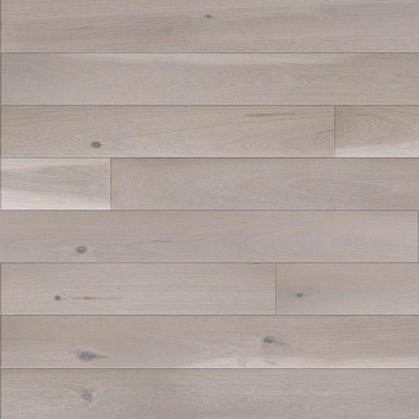 Basix Narrow Silver engineered matt UV lacquered click wood flooring