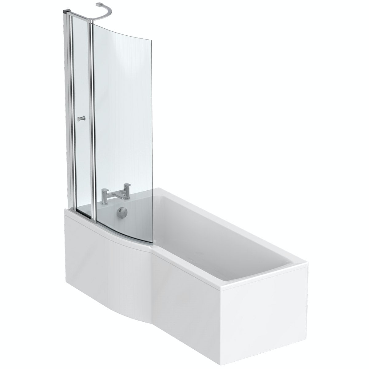 Ideal Standard Concept Air Idealform left hand shower bath 1700 x 800