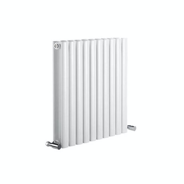 Reina Neva white double horizontal steel designer radiator