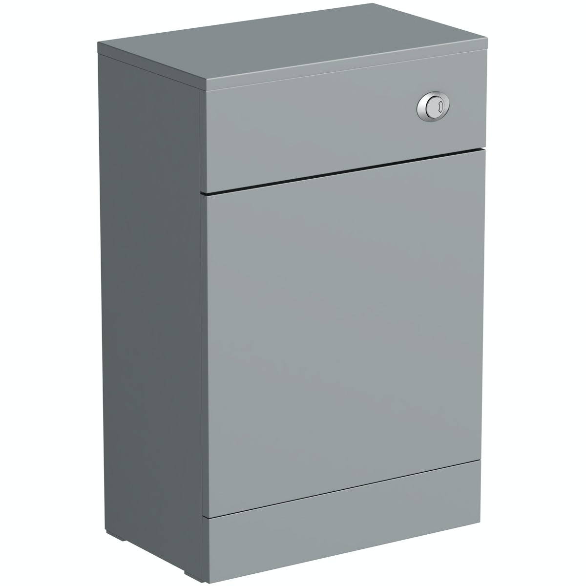 Orchard Elsdon stone grey slimline back to wall toilet unit 500mm