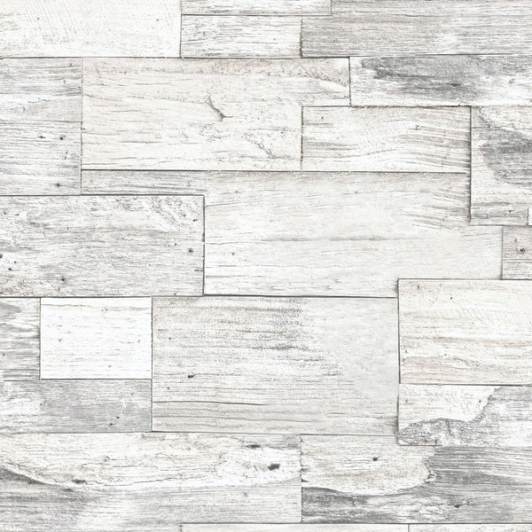 Graham & Brown Superfresco easy shiplap wood wallpaper