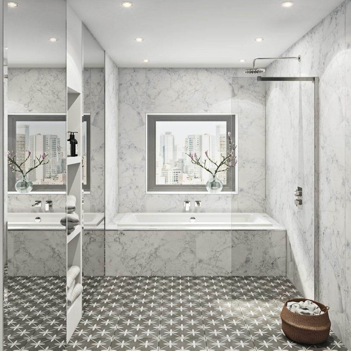 Multipanel Linda Barker Bianca Luna Hydrolock shower wall panel